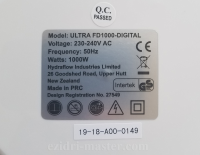 Ultra FD1000 Digital